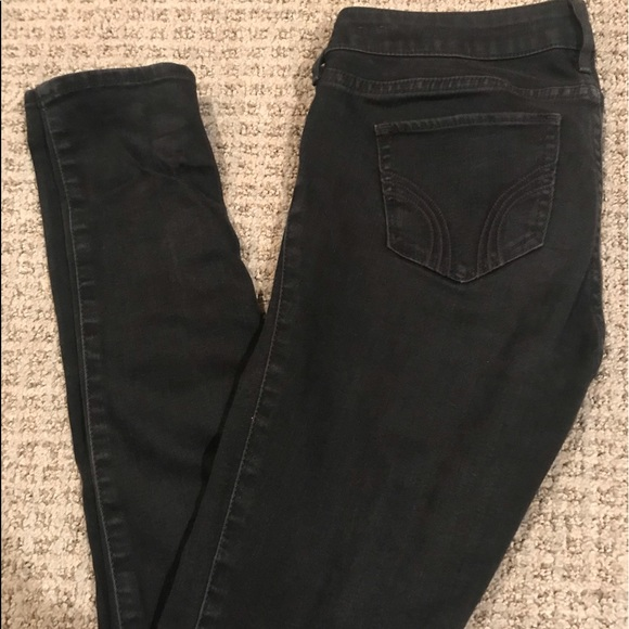 Hollister Denim - Hollister Black Low Rise Jeans